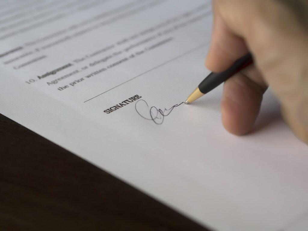 Ugovor o poklonu - Ništavost ugovora