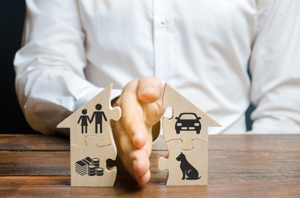 Razvod braka - Podela imovine